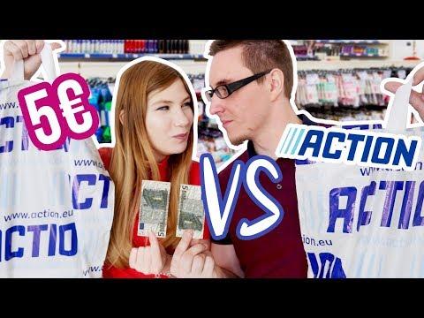 DÉFI 5€ À ACTION 😱 MON COPAIN VS MOI