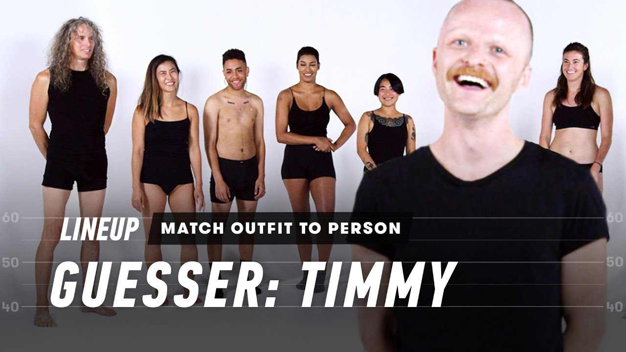 Match Outfit to Person (Timmy)   Lineup   Cut