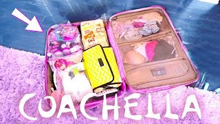 What I brought to COACHELLA 2018!!!