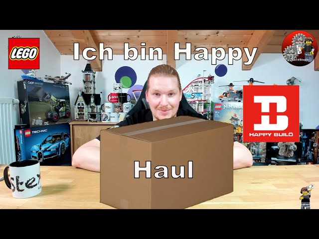 Dieser Haul macht mich Happy | Lego® und Happy Build Sets von klein bis Groß