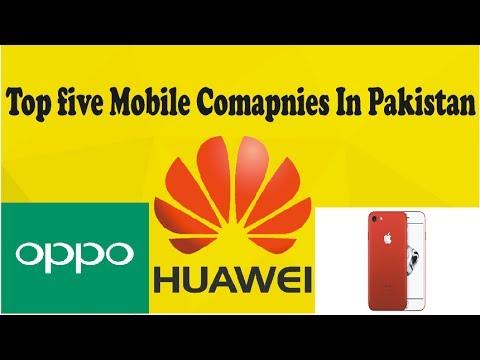 Top TEN Mobiles COMPANIES in PAKISTAN