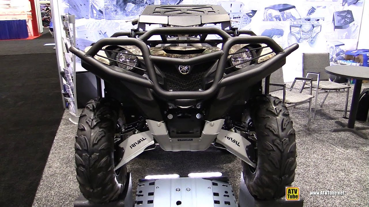 2016 Yamaha Grizzly With Rival Accessories Walkaround Aimexpo Orlando You