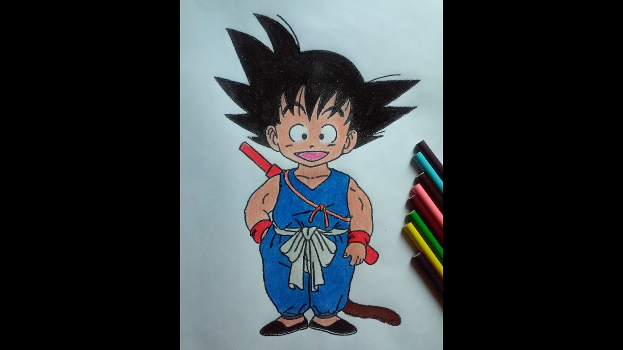 KID GOKU BLUE SUIT by marvelmania on DeviantArt |Goku Blue Suit
