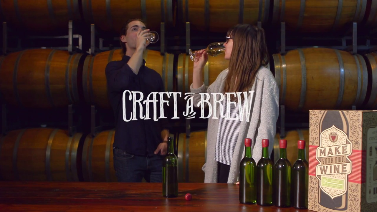How to Make Wine | Craft a Brew & How to Make Wine | Craft a Brew - YouTube