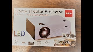 Home Theater Projector Rca Rpj136