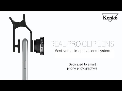 Kenko REAL PRO Clip Lens For Smart Phone Photographers