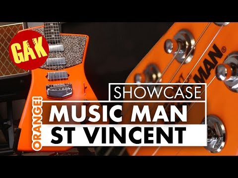 Fluorescent Orange Music Man St Vincent!!!