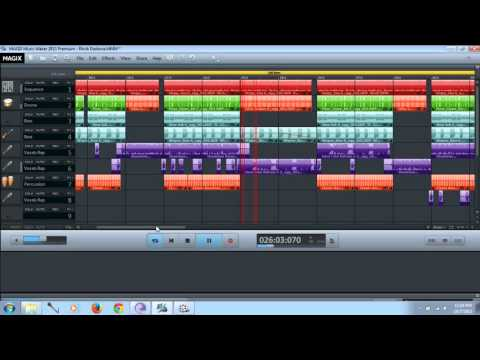 Magix Music Maker Video (made by DJ CODY),Learn how to make a DJ music,Official