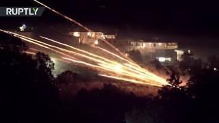 «Ракетная война»: греческая деревня встретила Пасху «с огоньком»