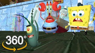 Spongebob Squarepants! - 360° Secret Formula Rehydrated! -(The First 3D VR Game Experience!) UPDATED