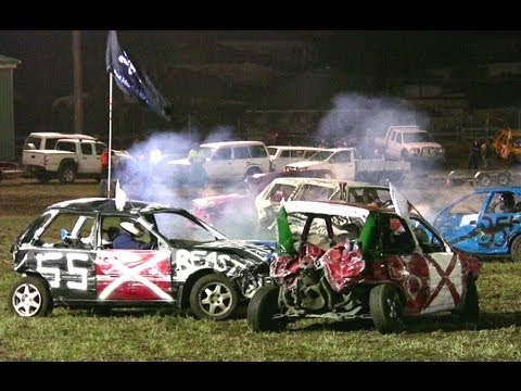 Demolition Derby - Dungog 2012 (4 Cylinder)