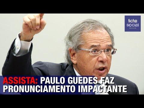 ASSISTA: PAULO GUEDES FAZ PRONUNCIAMENTO IMPACTANTE - GOVERNO BOLSONARO