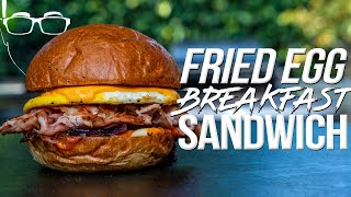 THE PERFECT FRIED EGG BREAKFAST SANDWICH | SAM THE COOKING GUY 4K