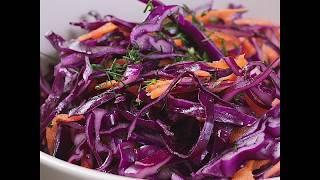 Капустный салат по типу коул-слоу