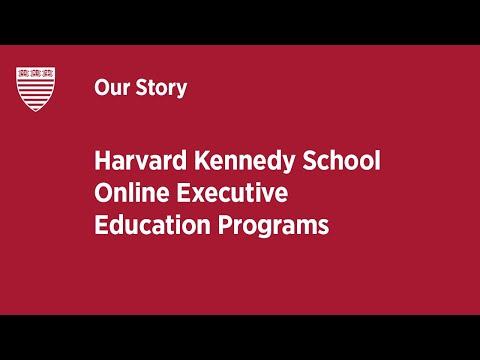 Harvard Kennedy School Online Executive Education Programs