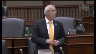 Fedeli debates his texting zone bill, Bill 190 May 19, 2016
