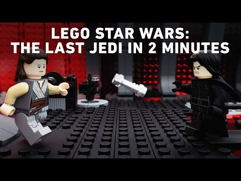 Star Wars: The Last Jedi Two-Minute Recap - LEGO Star Wars - Movie Recap
