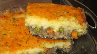 How to make Mashed Potato and Beef Casserole
