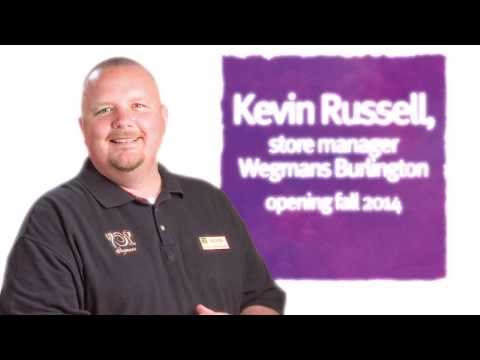 Wegmans Burlington, MA Store Manager Kevin Russell
