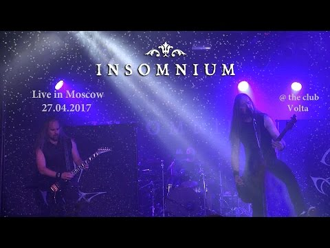 Insomnium - Live in Moscow 27.04.2017 (Entire concert)