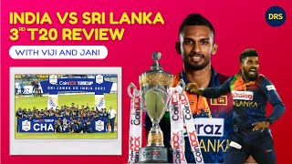 India vs SriLanka 3rd T20 Post Match Review   The Dressing Room Show