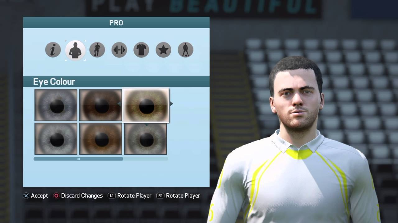 FIFA 16 Pro Clubs Look alikes Giuseppe Rossi