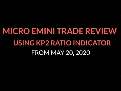Micro Emini Trade Review for 5/20/20