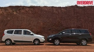 Toyota Innova Crysta v/s Renault Lodgy - Comparative Review