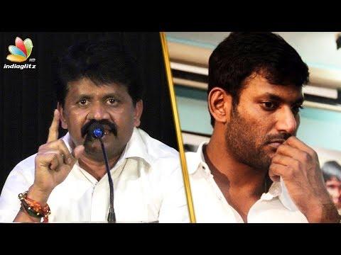 JK Rithesh Slams actor Vishal | Nadigar Sangam Election | Latest Speech