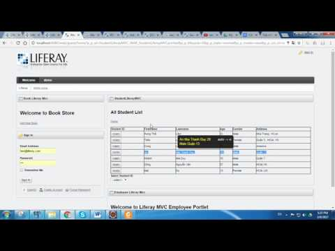 [Liferay] Service Builder and Jsp  MVC portlet