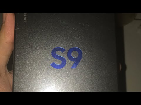 Unboxing Samsung Galaxy S9 Indonesia