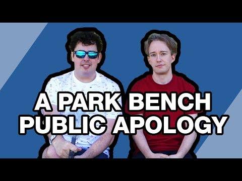 A Park Bench Public Apology