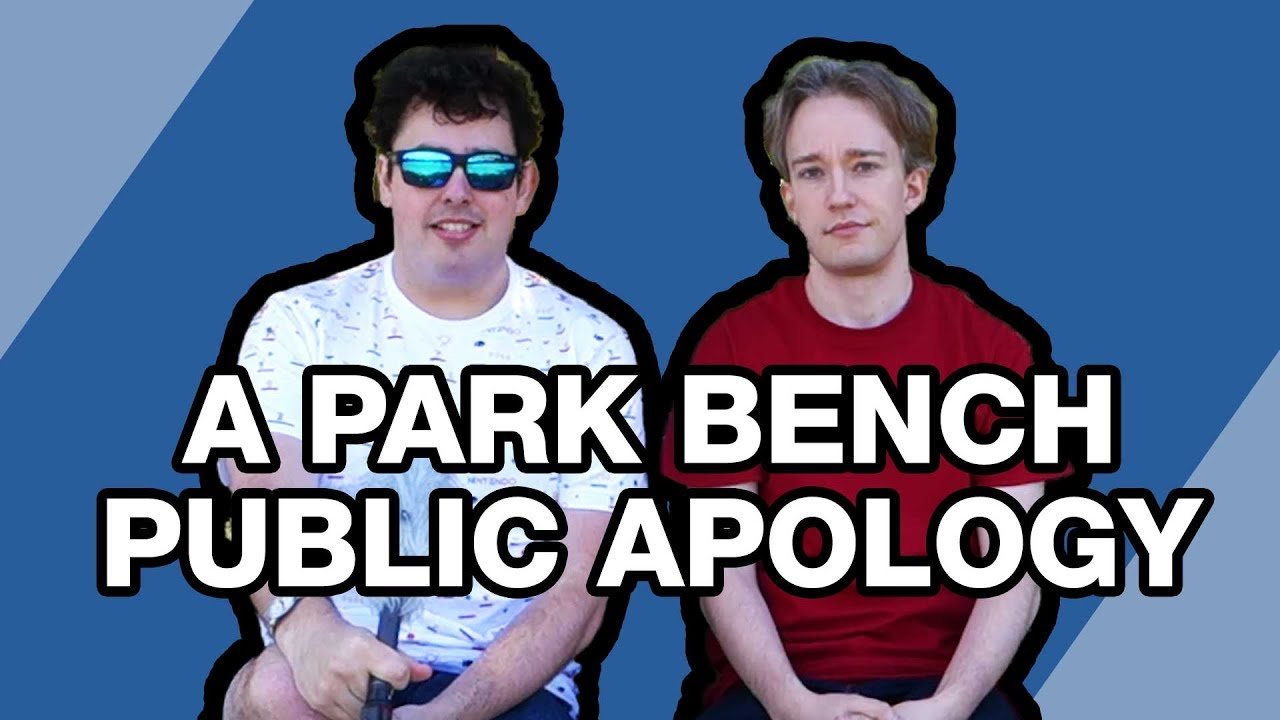Youtube Thumbnail Image: A Park Bench Public Apology