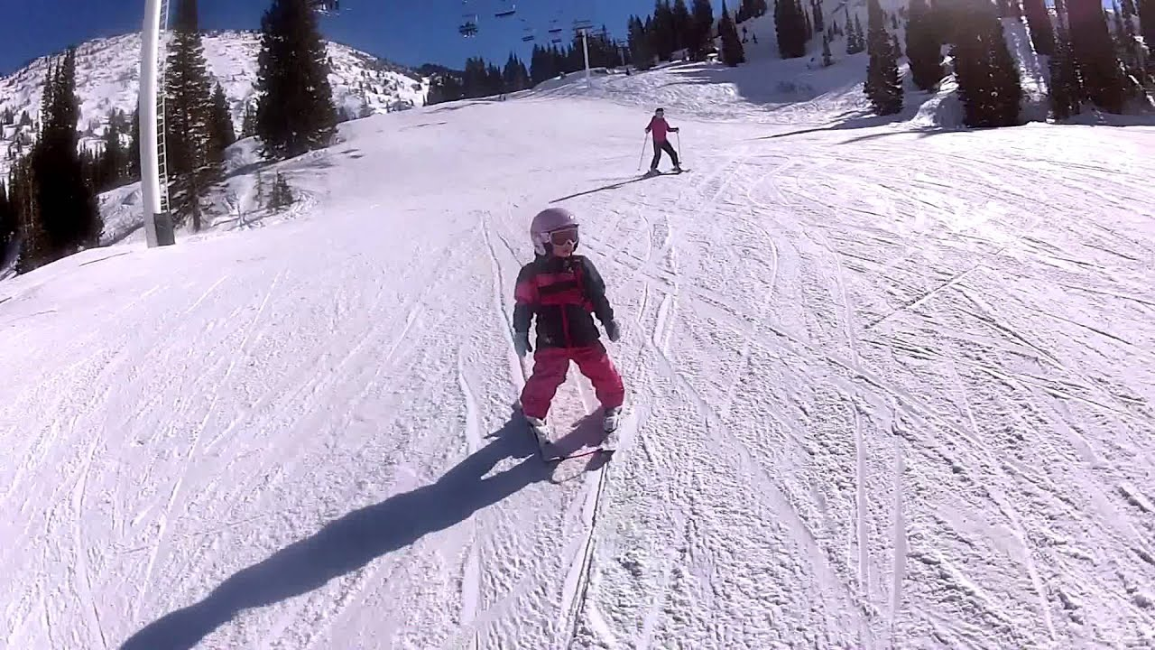 Baby Live Wallpaper Hd Learn To Ski With Kids Lesson 4 Turning Youtube