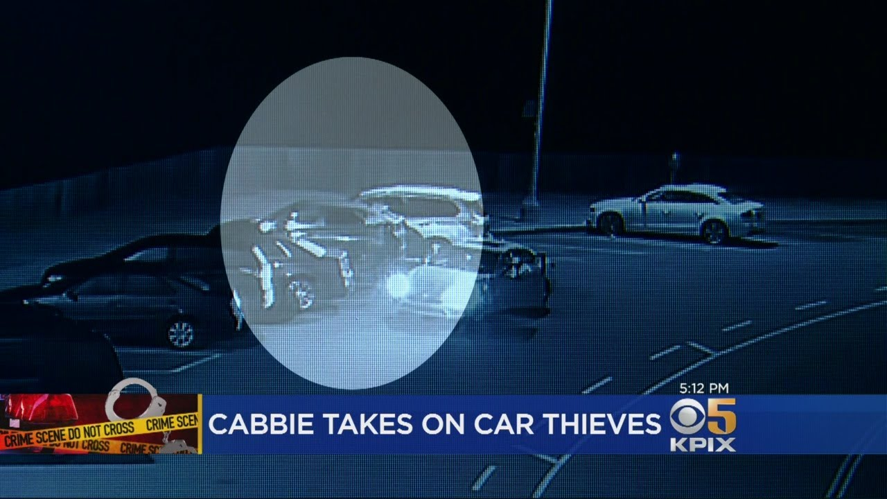 Cabbie Chases Auto Thieves Who Hit Cars At Cliff House Restaurant