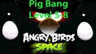 Angry Birds Space Utopia Level S-8 3 stars Walkthrough [HD]