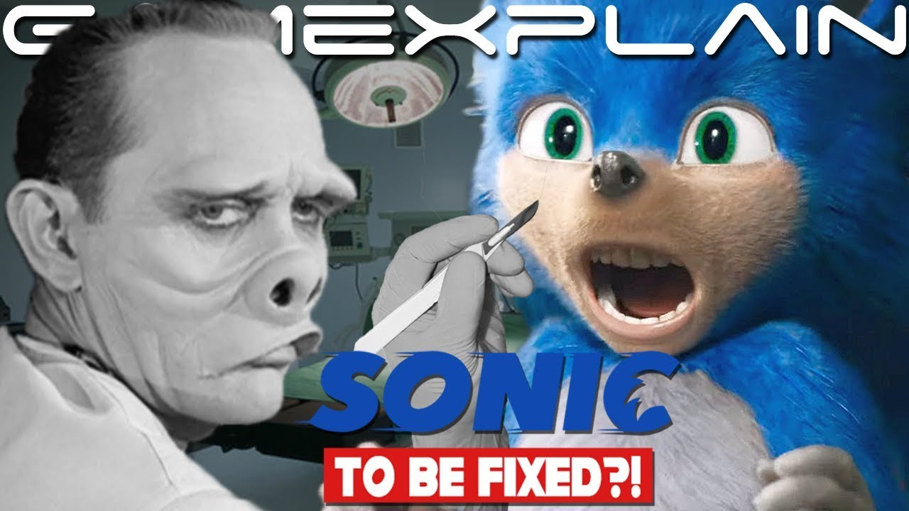 No More Ugly Sonic Film S Director Seemingly Confirms Redesign After Backlash Youtube