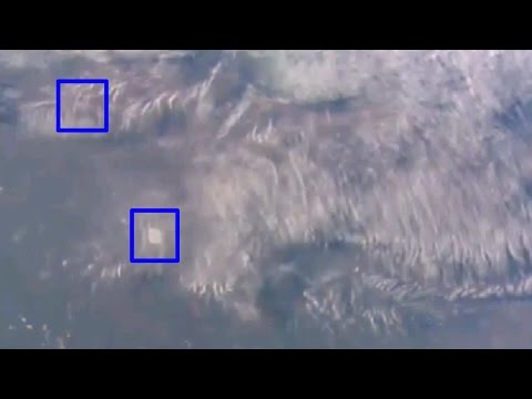 UFO sighting NASA cuts live Feed video Big cloaked ufo