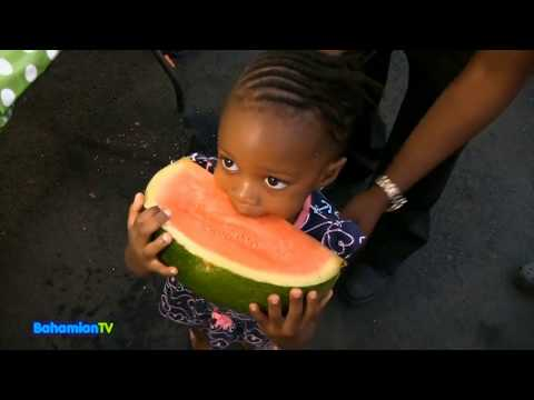 Bahamian TV  Watermelon Eating Contest 2018