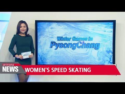 Lee Sang-hwa wins women's 500m speed skating silver
