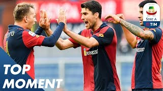 Criscito Scores Stunning Stoppage Time Winner! | Genoa 2-1 Lazio | Top Moments | Serie A