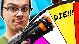 NERF Hangman Roulette Challenge! [Ep 5]