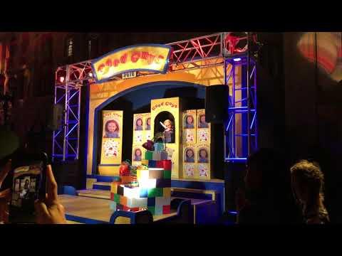 "Halloween Horror Nights Orlando 2018: ""Revenge of Chucky"" Intro"