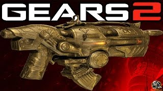 Gears of War 2 Xbox One - How to get Gold Lancer Golden Hammerburst for FREE!