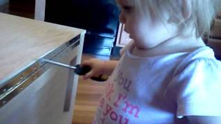 Baby Building Hope Chest Toy Box