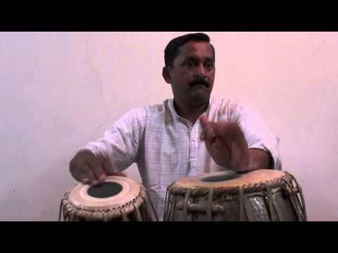 Shrikant Bhave tabla solo. Pune, India 2013