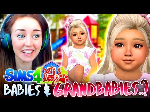 CONNOR'S CHILDREN ARE JUST BEAUTIFUL 😍 (The Sims 4 CATS & DOGS #33 🏖)