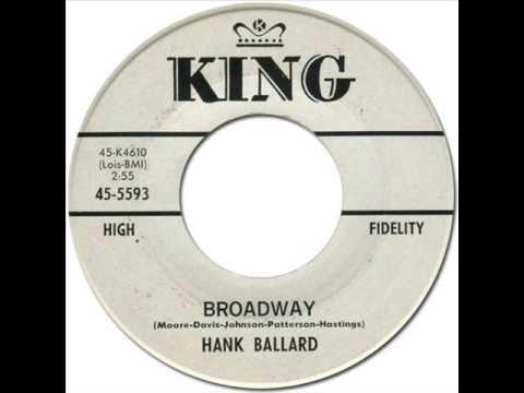 HANK BALLARD & THE MIDNIGHTERS - Broadway [King 5593] 1962