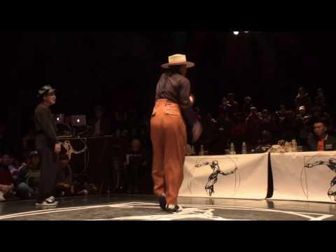 Funk for Life vs AOI & YUME【JUSTE DEBOUT JAPAN 2017】LOCKING BEST8