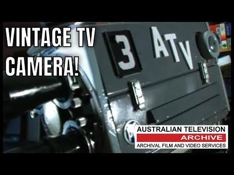 Vintage Image Orthicon PYE Television Camera